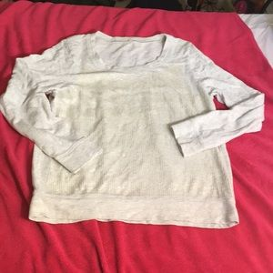 J crew sweater with sequins - size XL